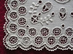 Hedebo embroidery - by rios