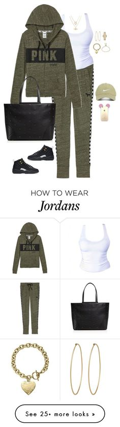 """Untitled #2965"" by bellarose99 on Polyvore featuring NIKE, Nike Golf, MCM, Social Anarchy, Chicnova Fashion, Burberry and Michael Kors"