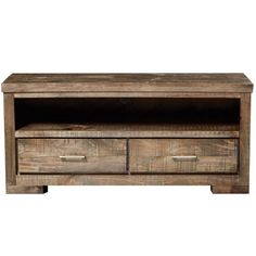 Trentham 2 Drawer TV Unit.  Inspired by the contemporary and relaxed style of a Soho, New York loft, the Trentham range is perfect for those searching for a natural setting that fits seamlessly into any space. With a rustic, rough-sawn finish, each piece is crafted with a captivating texture and quality that will last you for years to come.