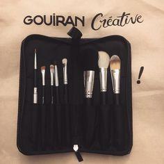 Le kit de 8 pinceaux Beautélive - Gouiran Créative