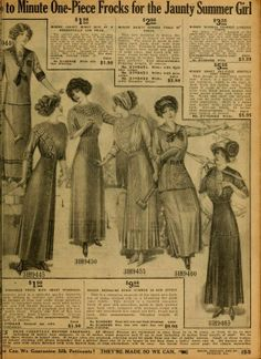 early-1900s History | early 1900s Sears Catalogue | Advertisements through history