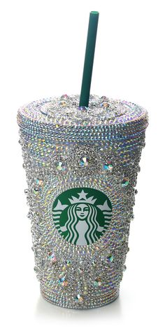Swarovski Starbucks Cup love it! Starbucks and bling doesn't get any better than this! Starbucks Coffee, Copo Starbucks, Starbucks Drinks, Coffee Mugs, Coffee Drinkers, Glitter Make Up, I Love Coffee, Girly Things, Just In Case