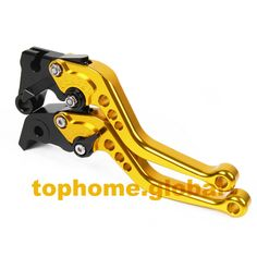 Short Size Motorcycle CNC Clutch Brake Levers For Suzuki 600 Bandit S-X 1995-1999 1996 1997 Yellow&Black Handlebar Free…