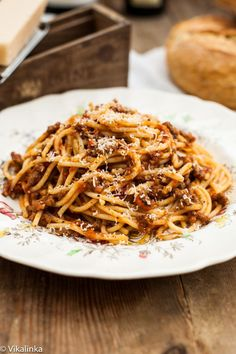 Learn how to make Spaghetti Bolognese, a rich meaty Italian sauce, at home.