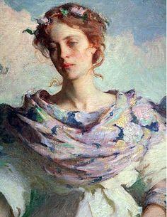 Summer ~ Frank W Benson 1890