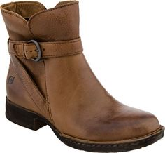 Born leather ankle boot,  brown with buckle - Teacher tip: buy cute hiking boots for everyday school boots - REI is your friend -NP