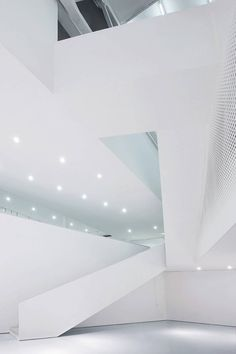 Interior aspect of the Yue Art Gallery by Tao Lei Architect Studio ☮k☮ #architecture