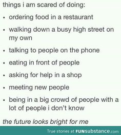 The future looks bright for me