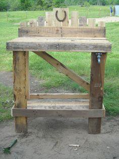 My Pallet Garden Bench