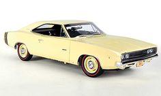 ertl+1+18+diecast+cars   Dodge Charger 1968 R/T hellbeige Ertl 1/18