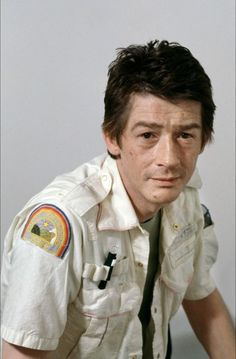A very young John Hurt in a publicity photo as Kane for #Alien (1979)