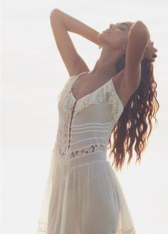 Beautiful white summer dress by Goddess of Babylon. MY DRESS :)