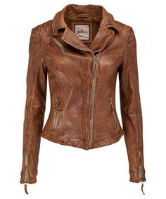 This is a favourite in the office at Joe Browns! This beautiful tan leather jacket is truly a stand out piece this season. The more you wear it the better it gets. Approx Length: Our model is: Tan Leather Jackets, Coats For Women, Clothes For Women, Tan Jacket, Fall Jackets, Contemporary Fashion, Alternative Fashion, Work Wear, My Style