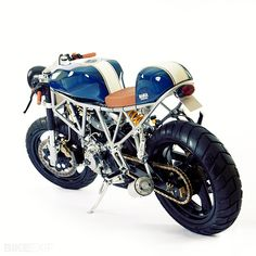 Custom Ducati 750SS by Maria Motorcycles