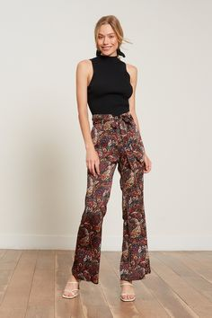 Flowy Pants, Boho Pants, Printed Pants Outfits, Fashion Pants, Punk Fashion, Lolita Fashion, Fashion Fall, Fashion 2020, Fashion Dresses