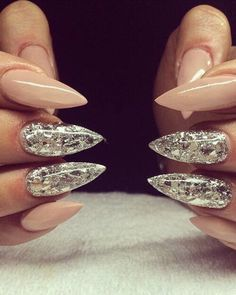 #stilleto nails - #girl, #style