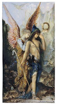 Les voix, Gustave Moreau - Madrid, Museo Thyssen Bornemisza