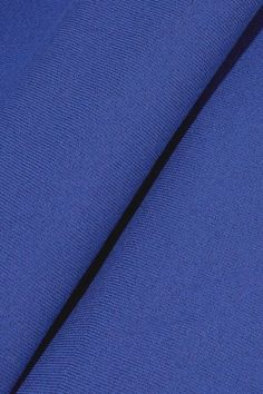 Mugler - Fluted Stretch-knit Dress - Bright blue - FR
