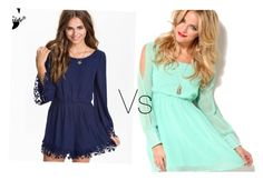 """""""Sexy brunette or cute blond?"""" by julybabe1 ❤ liked on Polyvore"""