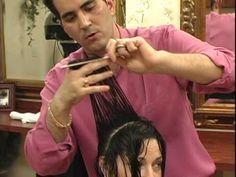 Otimo video para quem quer aprender repicar cabelo passo a passo (parte 1) - YouTube