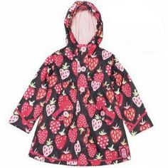 2015 Spring/Summer Let it Rain Strawberry Jacket from #deuxpardeux #3littlemonkeys