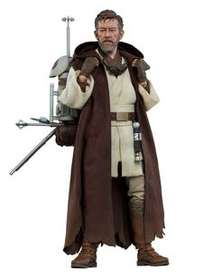 Sideshow is thrilled to introduce a return to the world of the Star Wars Mythos line, with the Obi-Wan Kenobi Sixth Scale Figure. Sideshow's Star Wars Mythos b Anakin Skywalker Lightsaber, Lightsaber Hilt, Original Captain Marvel, Jedi Tunic, Sideshow Star Wars, Star Wars Action Figures, Star Wars Collection, Star Wars, Dioramas