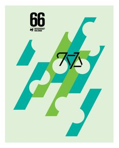 Cycling Posters by Caleb Kozlowski