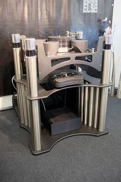 Acoustical_Systems_turntable  at High End Munich 2016 show on www.hifipig.com…