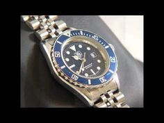 TAG Heuer 1000 Submariner Ladies watch Stainless steel Blue edition 980.615N/1
