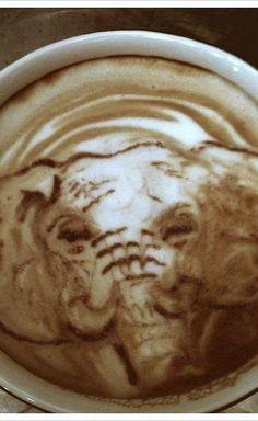 Elephant Latte Art
