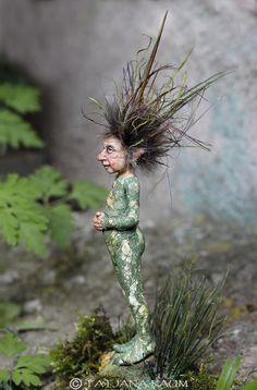 OOAK miniatuur artdoll 1:12th door Tatjana Raum van chopoli op Etsy