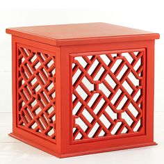 Wisteria - Furniture - Side Tables & Pedestals -  Asian Trunk Table - $249.00