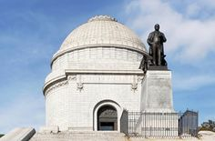 McKinley Monument is the final resting place for the 25th President of the United States, William McKinley. Canton, OH