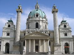 iglesia arquitectura barroca - Buscar con Google