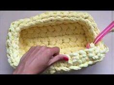 Aprende a tejer un joyero con trapillo XXL / Santa Pazienzia