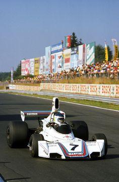 1975 Reutemann triunfa en Nurburgring