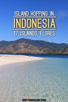 Off the beaten path island hopping in Indonesia -- the 17 Islands Marine Park, just off the coast of Flores, is an untouched paradise full of amazing beaches.