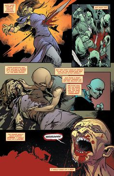 Preview: Hack/Slash: Son of Samhain #3, Page 3 of 6 - Comic Book Resources