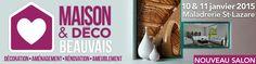 Ce week-end, Habitat Concept sera présent pour le 1er Salon Maison et Déco de Beauvais ! #En2015JeDeviensProprietaire