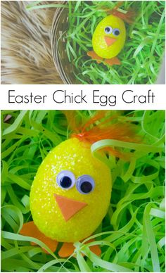 Easter Chick Egg Craft