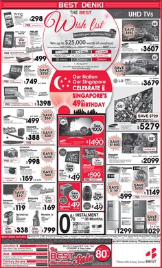 Straits Time Ad - 8 Aug 2014 Click here to view or zoom: http://go.bestdenki.com.sg/best-adverts/press-advert-8-aug-2014