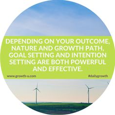 Depending on your outcome, nature and growth path, goal setting and intention setting are both powerful and effective #goals #intentions #healthy #motivate