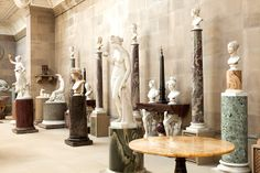Sculpture Gallery - Chatsworth house