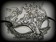 Simply Masquerade: Pagasus Filigree Venetian Masquerade Mask ...