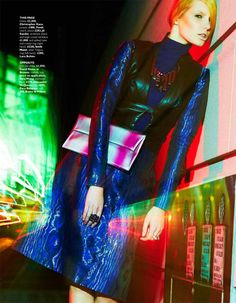 photo by Ryan Michael Kelly: Ray of Light for Grazia magazine
