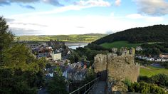 Conwy Castle, North Wales #travel #Wales #visitwales #conwycastle #RTW #RTWChat #castles #unesco #greatcastles