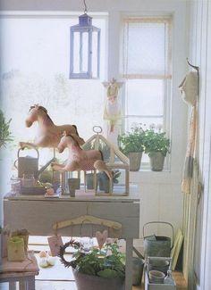 "Comfort Swedish. The interior in the style of ""Tilda"")) - ragdoll"