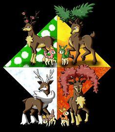 The four seasons sawsbuck and deerling