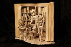 sosuperawesome:  Book sculptures by Jodi Harvey-Brown Shop...