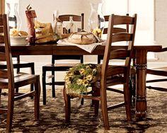 Wynn dining table - for Pottery Barn 2007